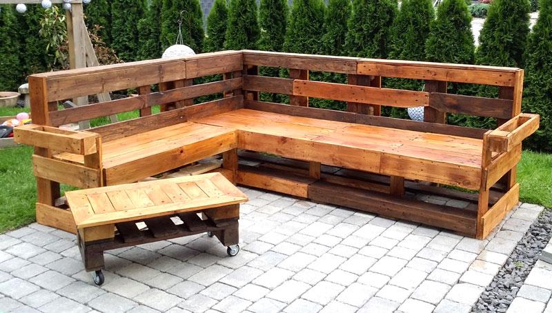 Palettenholz Möbel